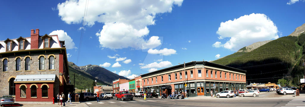 Grand Imperial Hotel And Downtown Silverton By Garycourtneyauthor On