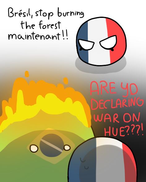 Countryballs Comic Brazil France Polandball By Annyeluvspopcorn On Deviantart
