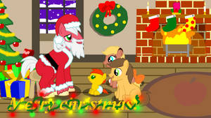 Santa Pony is coming to town.