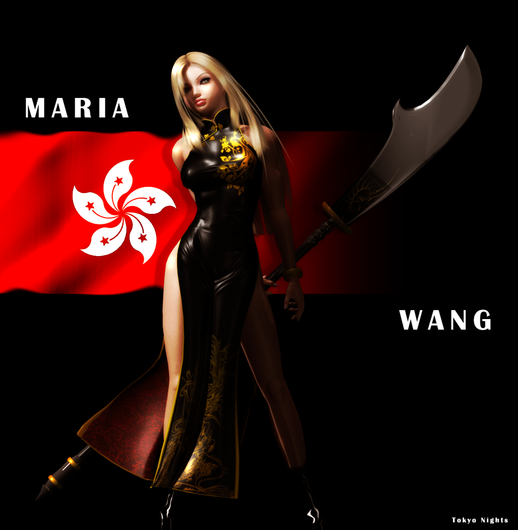 Maria Wang New Character by isshi