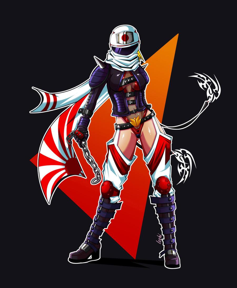 Amaya - TN Secret Character by isshi
