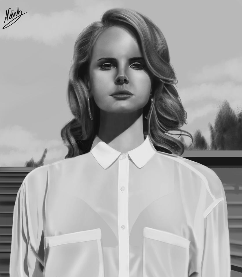 Lana Del Rey By Dinhosaur On Deviantart