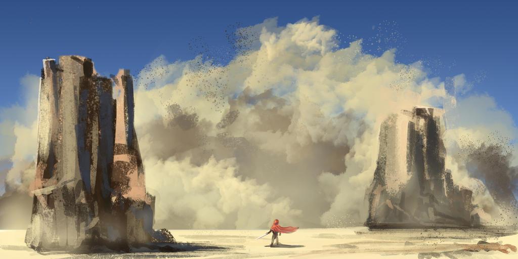 Sandstorm by Dinhosaur