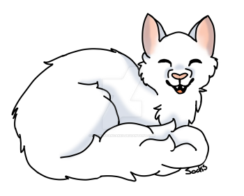 Snowpaw- Request for Stormfeather on WCO by Sockofpancakes
