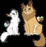 Frostfur and Lionheart