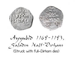 Saladin Half-Dirham by TaralWayne