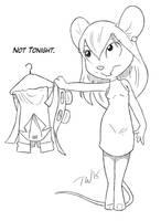 Not Tonight by TaralWayne