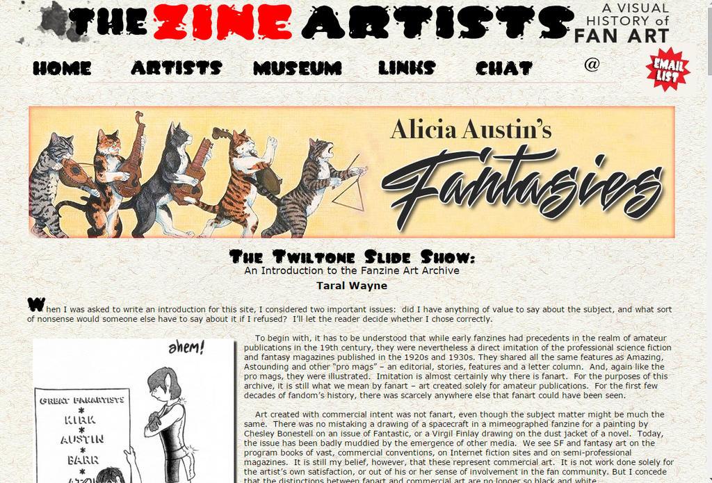 The Zine Artists (Screen Capture) by TaralWayne