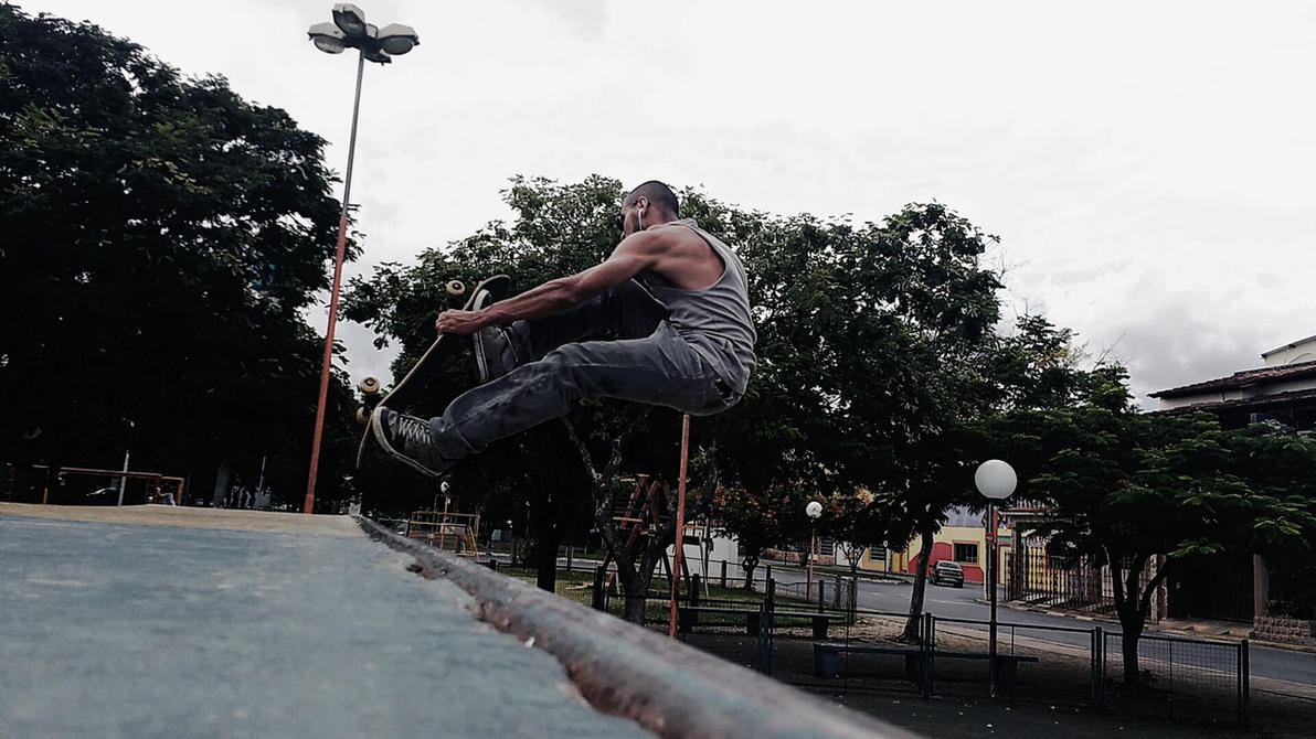 Skate Vertical Style by alyssonsk8