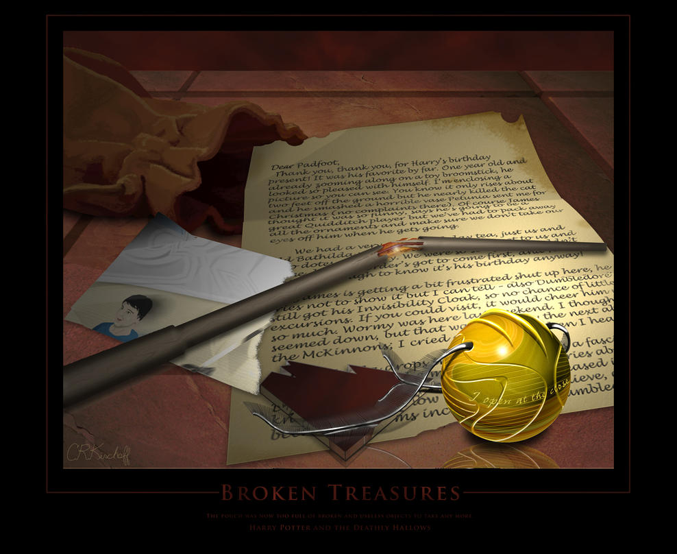 Broken Treasures by CKTalons