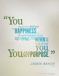 My Purpose