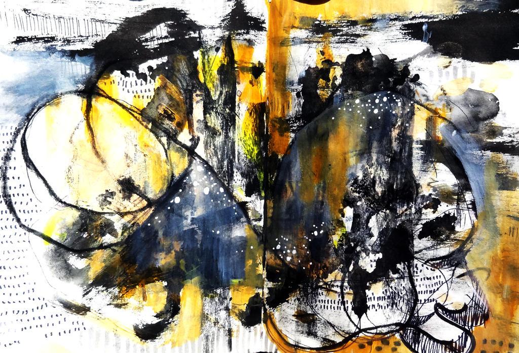 Art series   Abstract Illustrations U by Dana-Krystle