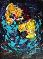 Yellow Flower Dance by Dana-Krystle