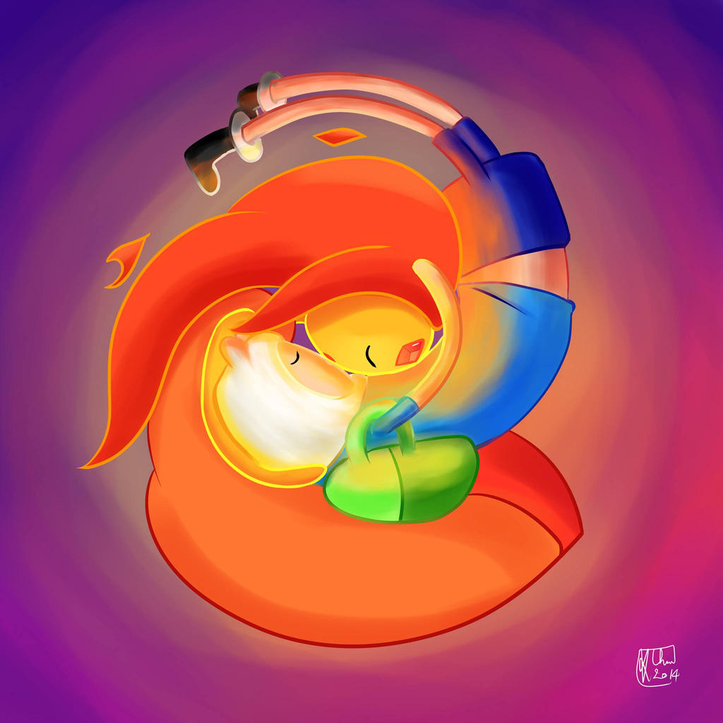 For Adventure Time Fans - Romantic Moments - [Burning Low ...   Adventure Time Finn And Flame Princess Kiss