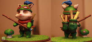 League of Legends Teemo sculpture