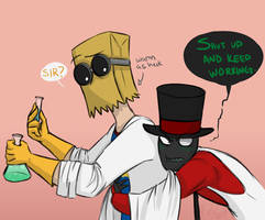 Personal heaters aren't supposed to talk, Flug by aloridragmire