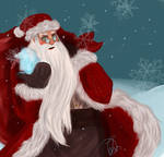 Santa Claus Magic by Lolx46