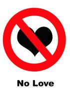 No Love by AppleJoan