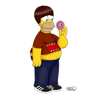 Homer Hecox or Ian Simpson by ClineSan