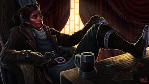 [Commission] Tiefling-sorcerer