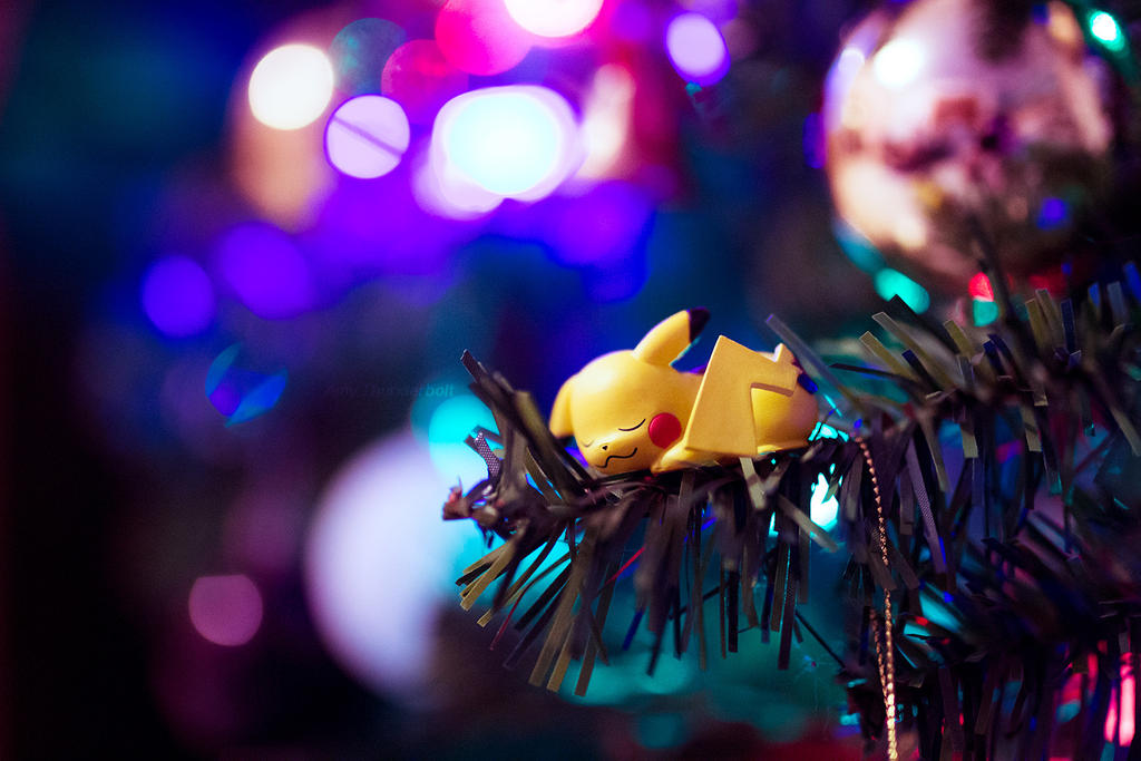 Christmas Pika [1] by AmyThunderbolt