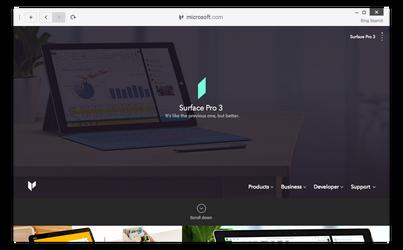 Internet Explorer Concept again by r2ds