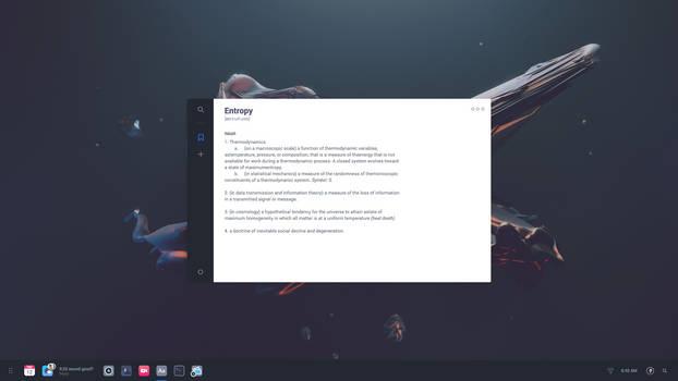 Solus OS Mockup