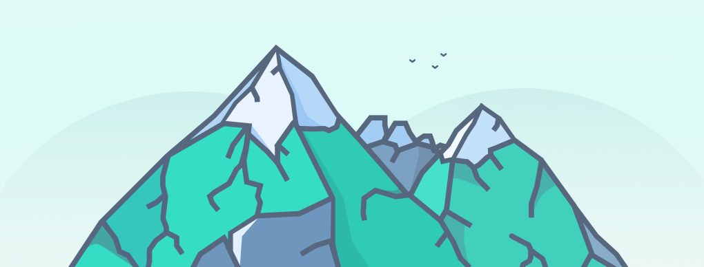 Mountain Illustration by r2ds