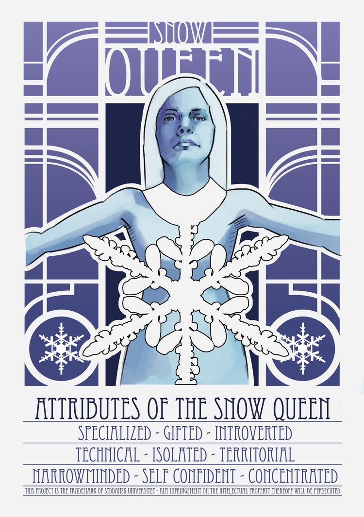 the snow queen by SylvesterHansen