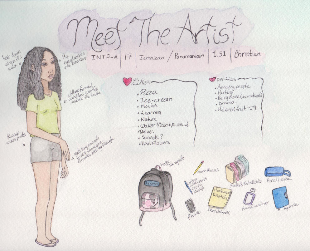Meet The Artist by crisabbigail