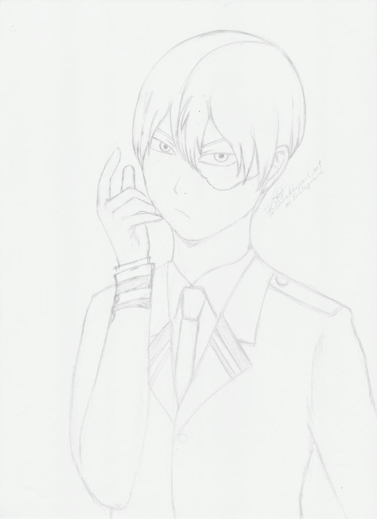 Todoroki Shouto by crisabbigail