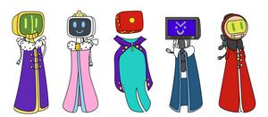 B-K deity figures