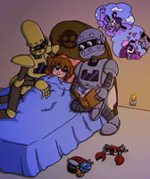 Bedtime story for the boss' clone by the-Gitz