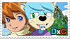 DaveChris stamp by the-Gitz