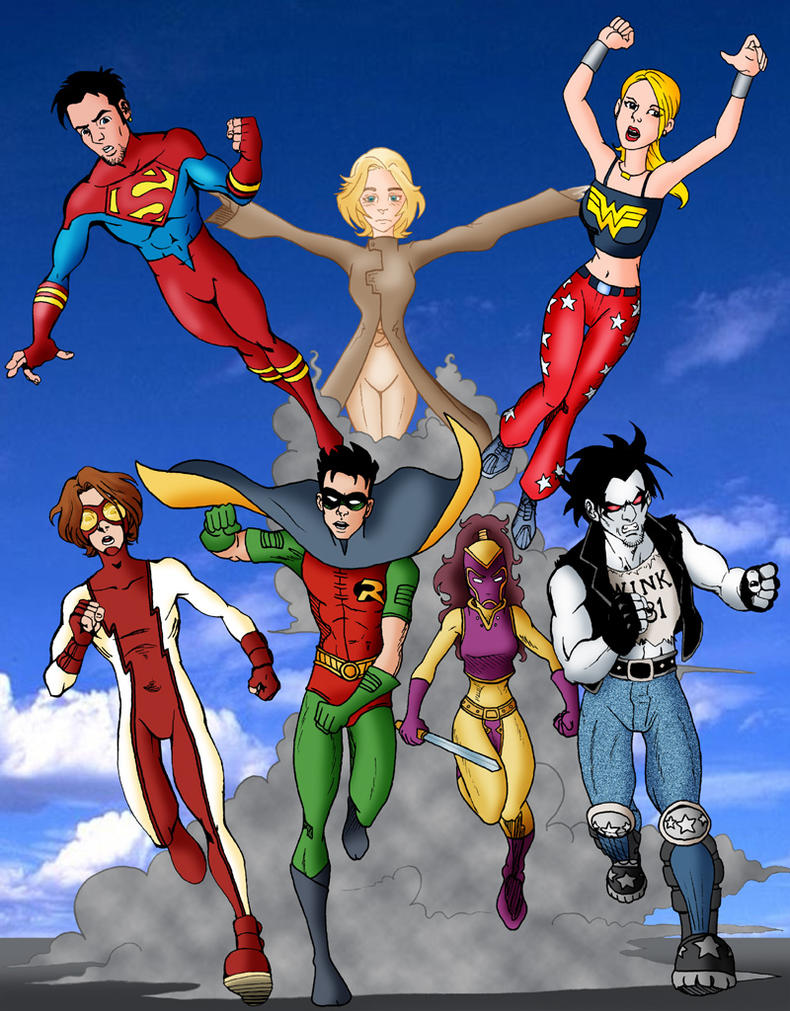Young Justice by MarcusMebes