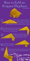 How to Fold Origami Elephants