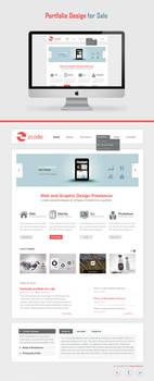 Website Portfolio for sale