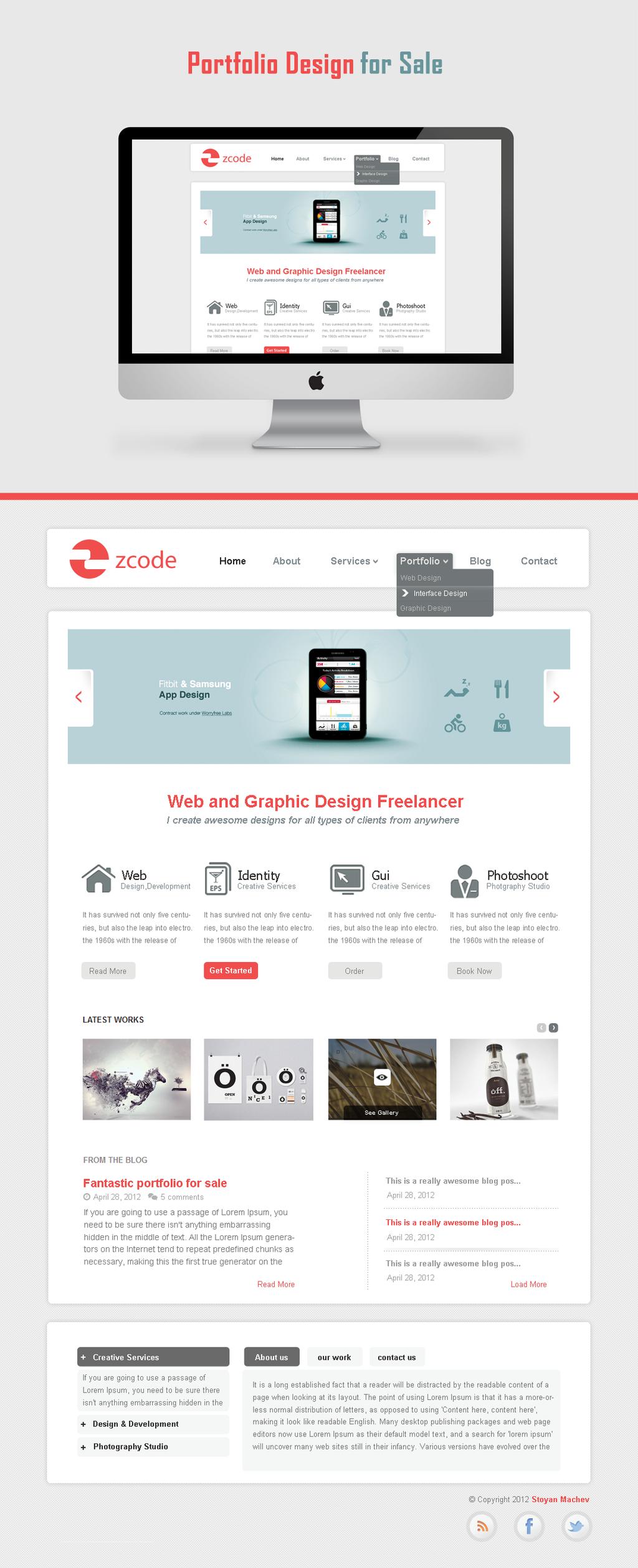 Website Portfolio for sale by cm96