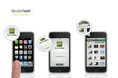 Deviant Art - Iphone APP