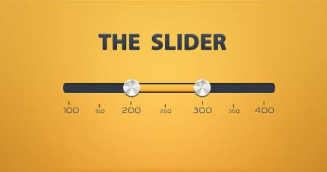 Web Slider PSD