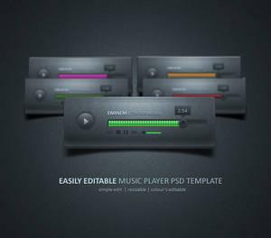 Music Player - Design