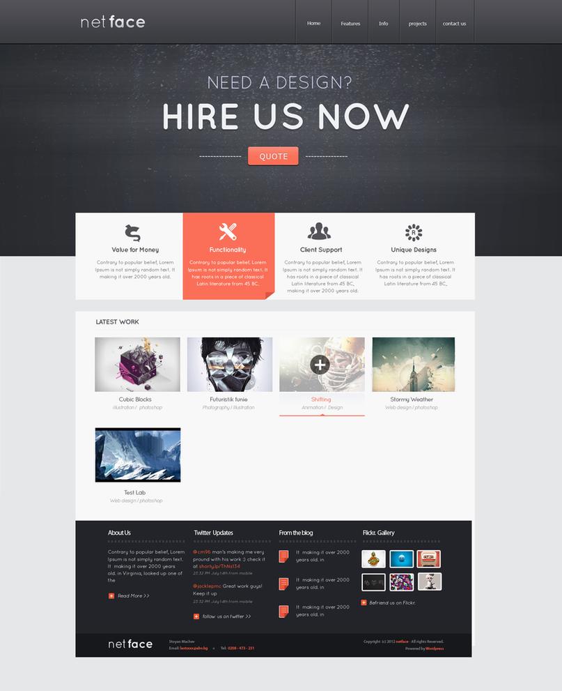 Web Design Ideas: Netface Portfolio For Sale By Cm96 On DeviantArt