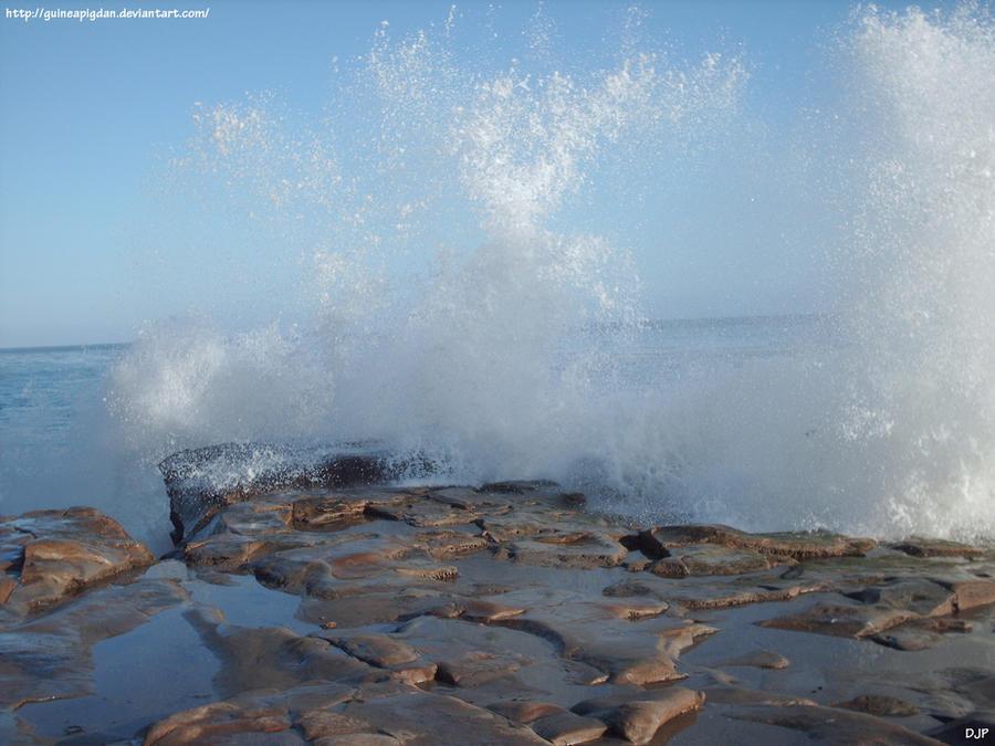 Waves up close