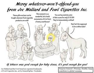 The Nativity of Joe Mallard by GuineaPigDan