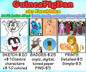 FC 2017 Commission Sheet by GuineaPigDan