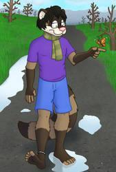Fuzzy Ferret's Hike by GuineaPigDan
