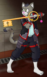 Keyblade warrior Peter?! by GuineaPigDan