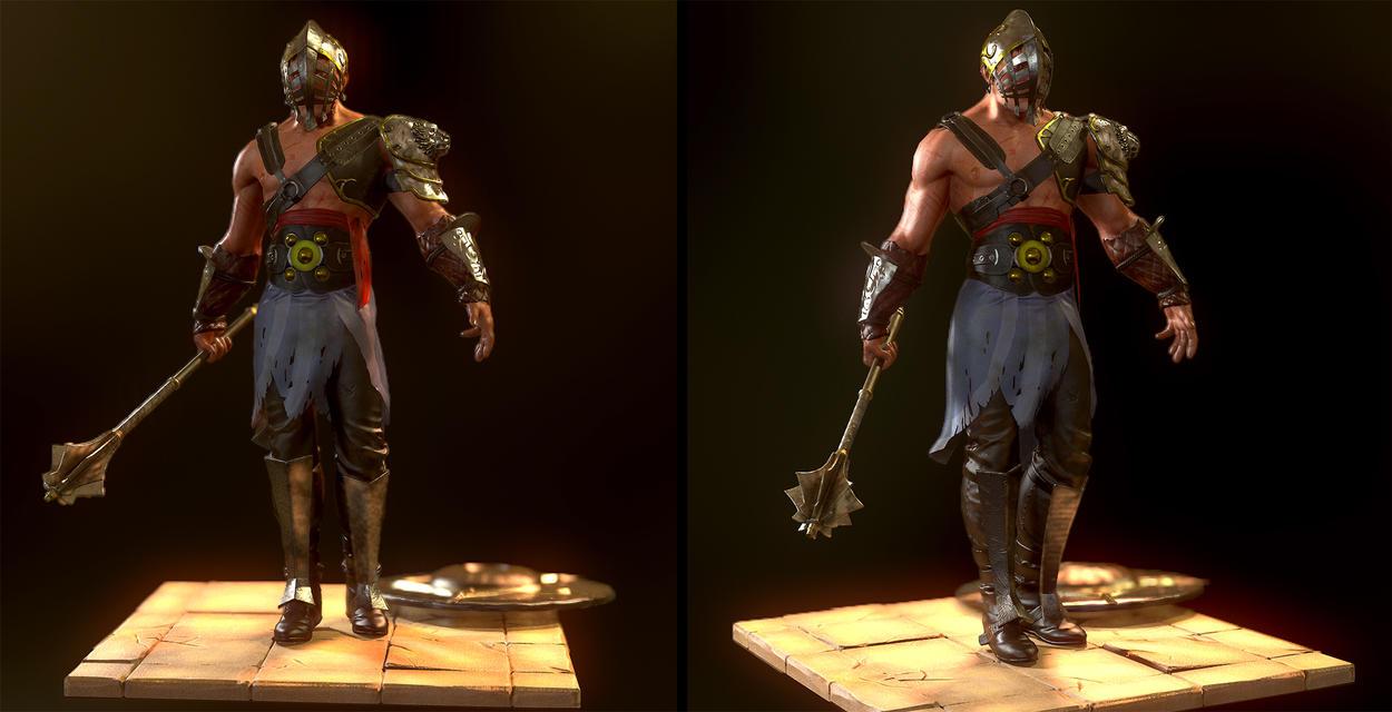Warrior by razzfoe