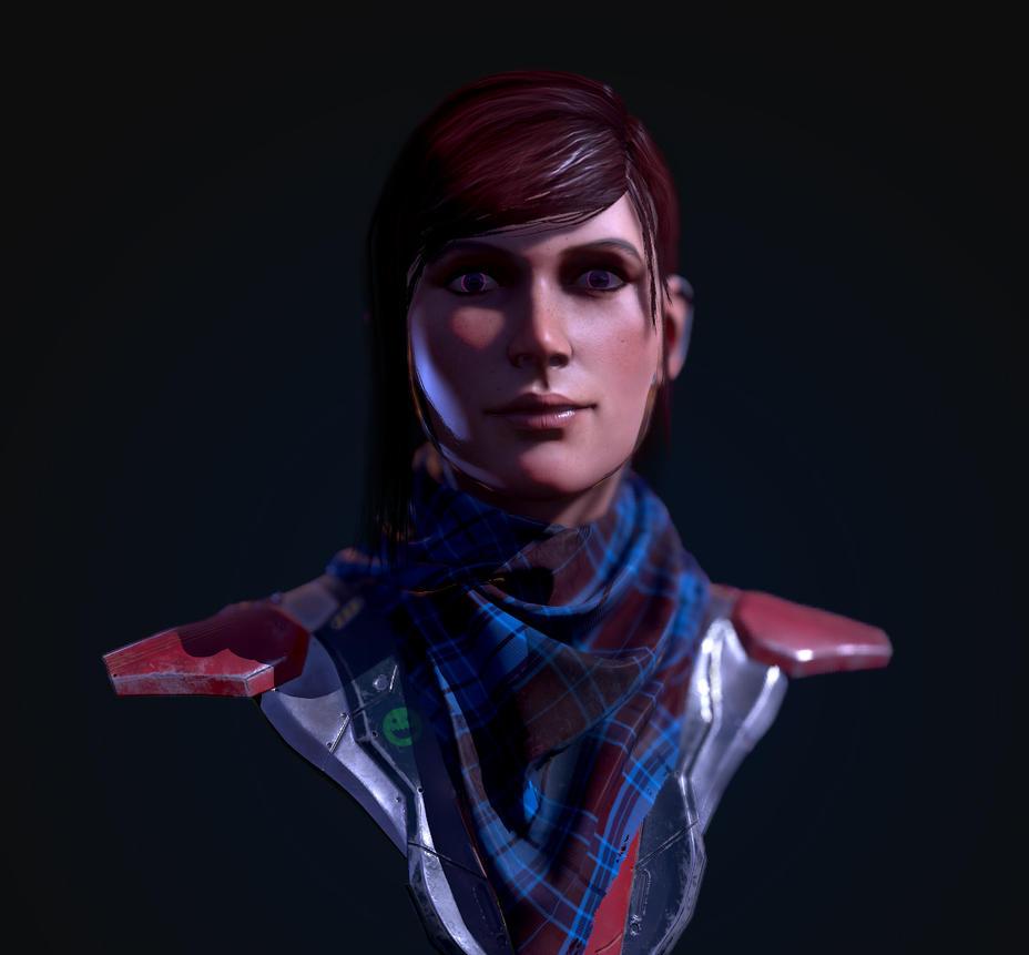 Cyborg Pink by razzfoe