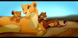 Kiara's little children